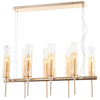 Balanchine 8 Light 36 inch Satin Gold Island Light Ceiling Light