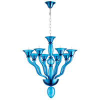 Phantasm 8 Light 31 inch Chrome Chandelier Ceiling Light