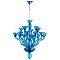 Phantasm 15 Light 34 inch Chrome Chandelier Ceiling Light