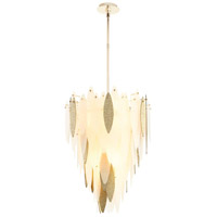 Vega 7 Light 22 inch Satin Gold Pendant Ceiling Light