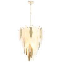 Cyan Design 08550 Vega 7 Light 22 inch Satin Gold Pendant Ceiling Light