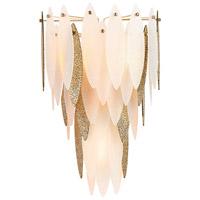 Cyan Design 08553 Vega 3 Light 15 inch Satin Gold Wall Sconce Wall Light