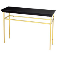 Calzada 48 X 16 inch Polished Gold Console Table