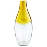 Mellow Yellow 17 inch Vase, Large