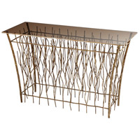Cyan Design 08674 Brittany Branch 49 X 19 inch Antique Gold Console Table Home Decor