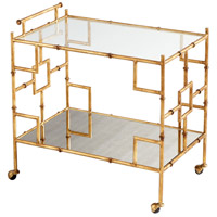 Cyan Design 08678 Molly Martini Gold Bar Cart photo thumbnail