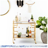 Cyan Design 08678 Molly Martini Gold Bar Cart alternative photo thumbnail