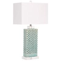 Cyan Design 08772 Sareta 28 inch 100 watt Blue Table Lamp Portable Light