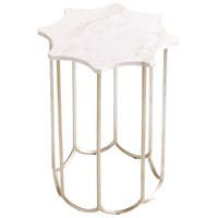 Stardust Antique Silver Finish Side Table Home Decor