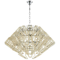 Roswell 8 Light 39 inch Chrome Pendant Ceiling Light