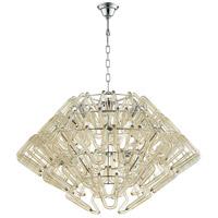 Cyan Design 08837 Roswell 8 Light 39 inch Chrome Pendant Ceiling Light