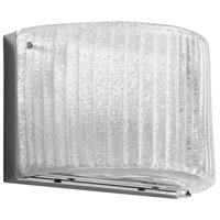 Cyan Design 08844 Glacial Drift 1 Light 10 inch Chrome Wall Sconce Wall Light