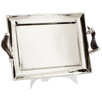 Cyan Design 08858 Agate Stainless Steel Tray