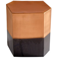 Golden Hunk Copper Stool Home Decor