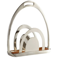 Placeholder Nickel Magazine Rack