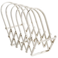 Cyan Design 08977 Accordian Polished Nickel Magazine Rack