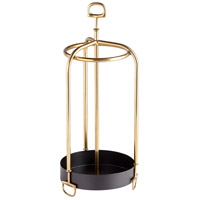 Rain Rain Go Away Brass Umbrella Stand