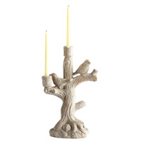 Look Out 17 X 9 inch Candleholder, Small
