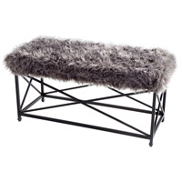 Cyan Design 09039 Ushanka Graphite and Grey Bench