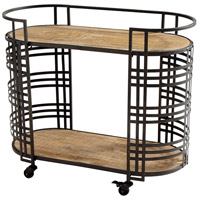 Cyan Design 09044 Banded About Bronze Bar Cart