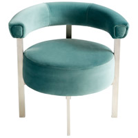 Cyan Design 09104 Sir. Richard Stainless Steel Chair