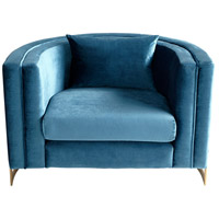 Cyan Design 09105 Donatello Brushed Brass Chair
