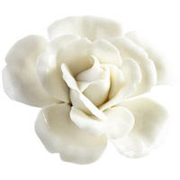 Blooming Parade Off White Glaze Wall Decor, Medium