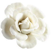 Blooming Parade Off White Glaze Wall Decor, Large