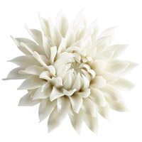 Blossoming Spring Off White Glaze Wall Decor, Small