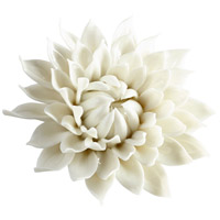 Blossoming Spring Off White Glaze Wall Decor, Large