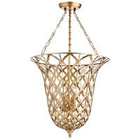 Cyan Design 09230 Guinevere 4 Light 20 inch Aged Brass Pendant Ceiling Light
