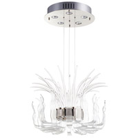 Cyan Design 09232 Catalina 5 Light 24 inch Polished Nickel Pendant Ceiling Light Small