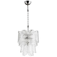 Cyan Design 09237 Cascata 4 Light 15 inch Polished Nickel Pendant Ceiling Light Small