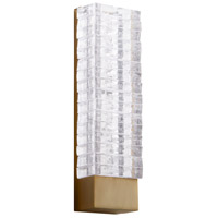 Cyan Design 09247 Kallick LED 5 inch Aged Brass Wall Sconce Wall Light
