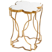 Aurelia 21 X 14 inch Gold Side Table
