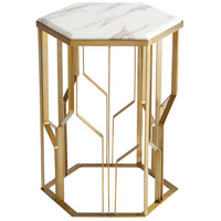 Orla Brass Side Table