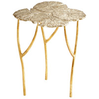 Ulla 23 X 19 inch Silver and Gold Side Table