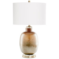 Cyan Design 09286 August Night 30 inch 100.00 watt Lunar Brown Table Lamp Portable Light in Bulb Not Included