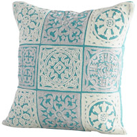 Cyan Design 09301-1 Signature 18 X 18 inch Blue Pillow Cover photo thumbnail
