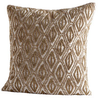 Honeycomb 18 X 18 inch Grey Pillow