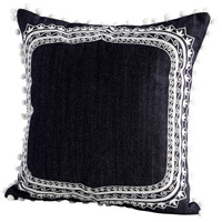 Cyan Design 09315 Merida 18 X 18 inch Blue and White Pillow