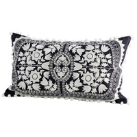 Cyan Design 09337 Morelia 24 X 14 inch Blue and White Pillow