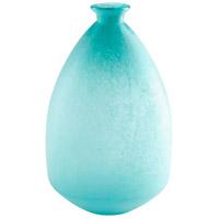 Cyan Design 09446 Brenner Sky Blue Vase Large