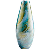 Chalcedony 12 inch Vase, Small