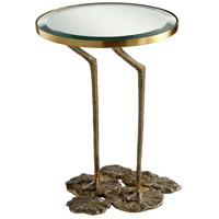 Struz 17 inch Brass Side Table