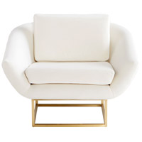 Cyan Design 09596 Shiva Brushed Brass Accent Chair photo thumbnail