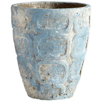 Cyan Design 09611 Naples Antique Blue Planter, Small