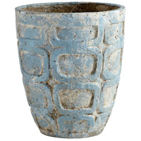 Cyan Design 09612 Naples Antique Blue Planter, Medium