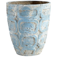 Cyan Design 09613 Naples Antique Blue Planter, Large
