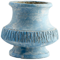 Cyan Design 09619 Marina Bay Antique Blue Planter, Small